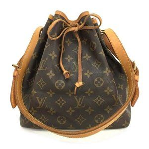 Louis Vuitton  Petit Noe Drawstring Shoulder Bag